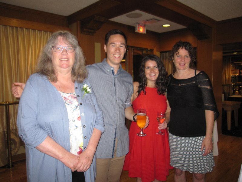 Wendy Gilmour, Peter Halim, Shelby Calman, Nancy Palejko