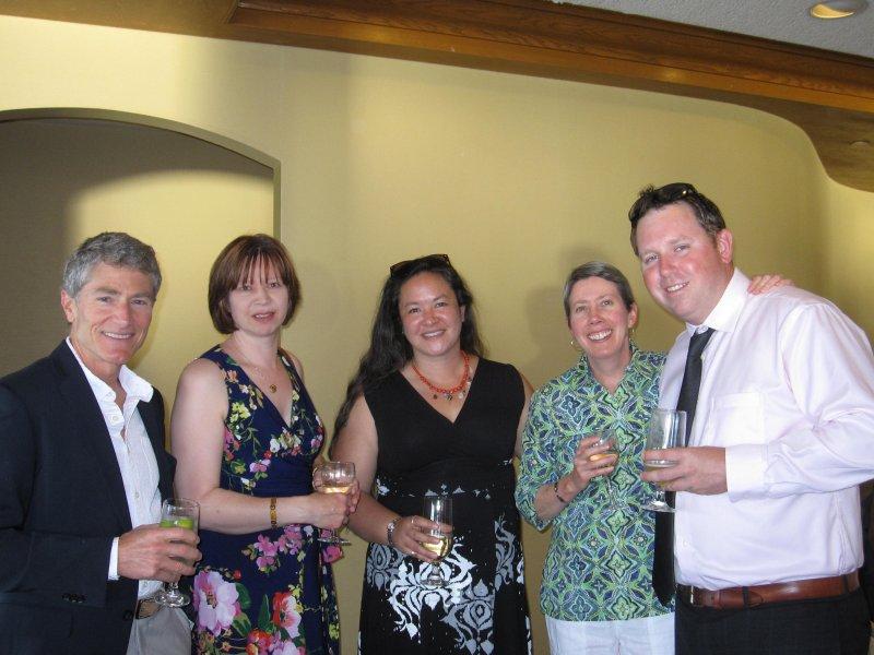Brad White, Jacquie Moon, Petra Rempel, Lorraine Breton, Jon Wynn