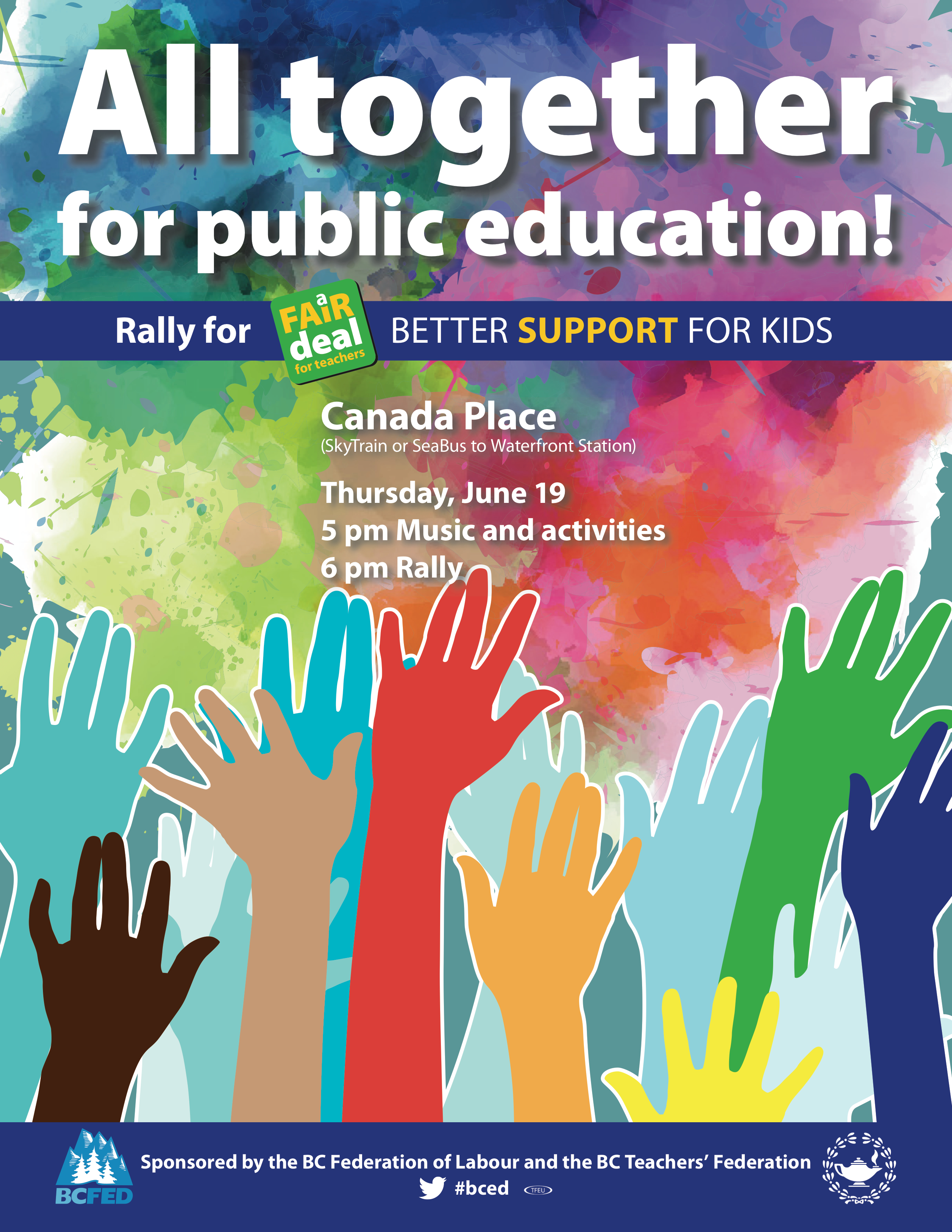 All-Together-Rally-Poster-BCTF-BCFED | Vancouver Secondary ...