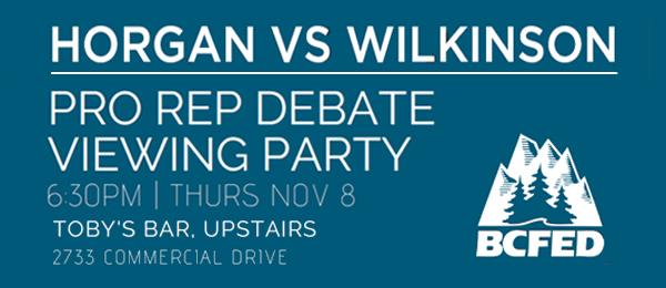 Proportional Representation Debate Party