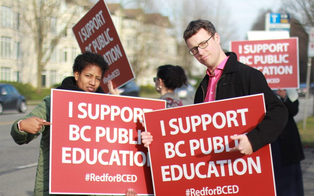 Support for Public Education & BCTF Bargaining Team