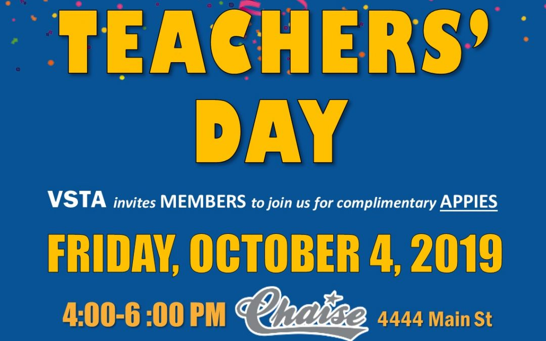 World Teachers' Day Social